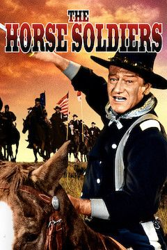 The Horse Soldiers movie poster.