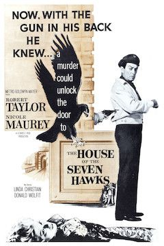 The House of the Seven Hawks movie poster.