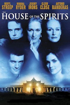 The House of the Spirits movie poster.