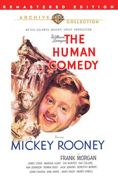 The Human Comedy movie poster.