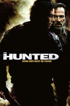 The Hunted movie poster.