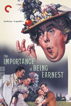 The Importance of Being Earnest movie poster.