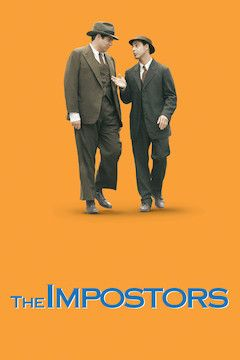 The Impostors movie poster.