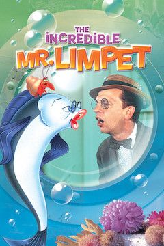 The Incredible Mr. Limpet movie poster.
