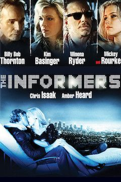 Poster for the movie The Informers