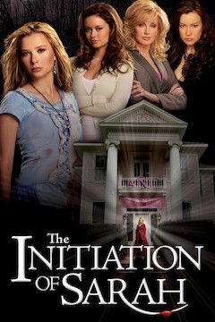 The Initiation of Sarah movie poster.