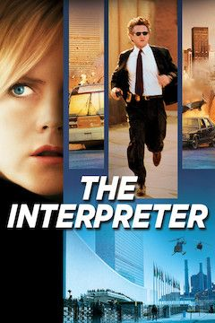 The Interpreter movie poster.