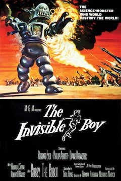 The Invisible Boy movie poster.