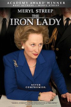 The Iron Lady movie poster.