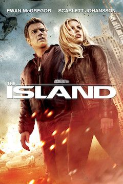 The Island movie poster.