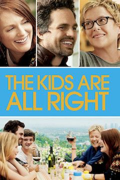 The Kids Are All Right movie poster.