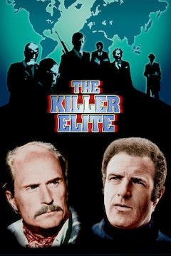 The Killer Elite movie poster.
