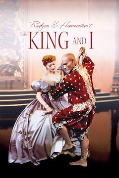 The King and I movie poster.