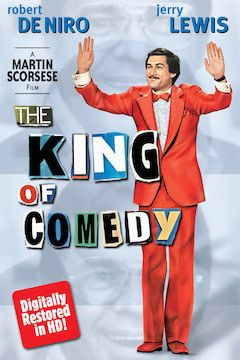The King of Comedy movie poster.