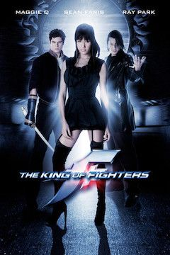The King of Fighters movie poster.