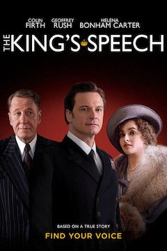 Poster for the movie The King's Speech