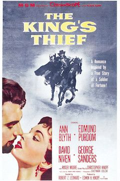 The King's Thief movie poster.
