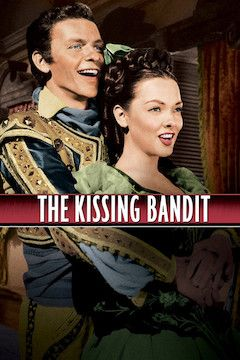 The Kissing Bandit movie poster.