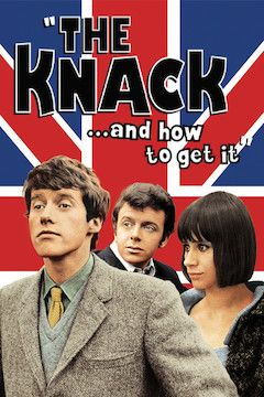 The Knack and How to Get It movie poster.