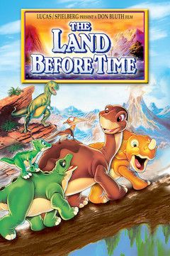 The Land Before Time movie poster.