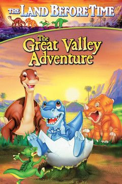 The Land Before Time II: The Great Valley Adventure movie poster.