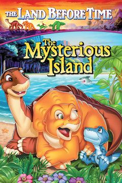 The Land Before Time V: The Mysterious Island movie poster.