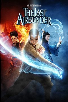 The Last Airbender movie poster.