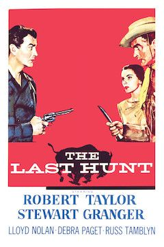 The Last Hunt movie poster.