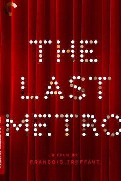 The Last Metro movie poster.