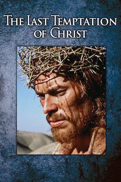 The Last Temptation of Christ movie poster.