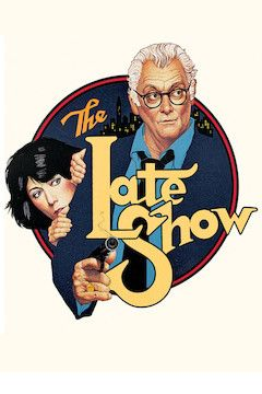 The Late Show movie poster.