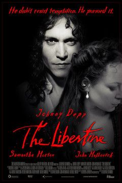 Poster for the movie The Libertine