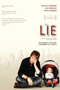 The Lie movie poster.