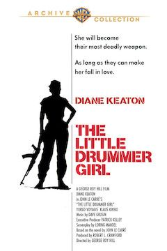 The Little Drummer Girl movie poster.