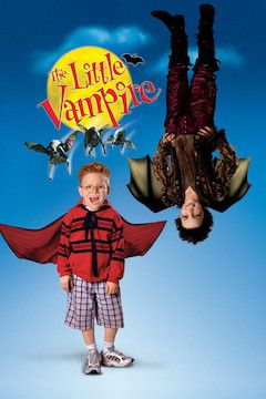 The Little Vampire movie poster.
