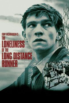 The Loneliness of the Long Distance Runner movie poster.