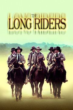 The Long Riders movie poster.