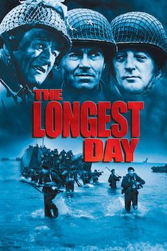 The Longest Day movie poster.
