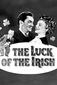 Poster for the movie The Luck of the Irish