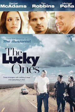 The Lucky Ones movie poster.