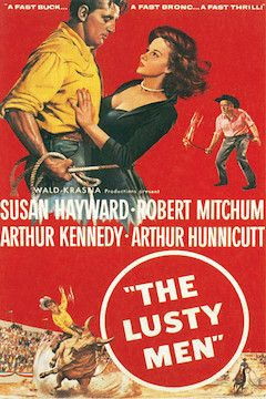 The Lusty Men movie poster.