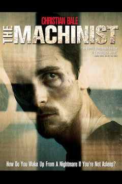 Poster for the movie The Machinist