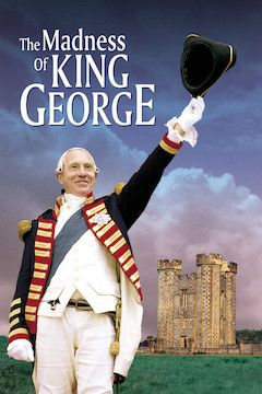 The Madness of King George movie poster.