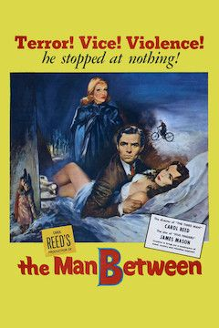 The Man Between movie poster.