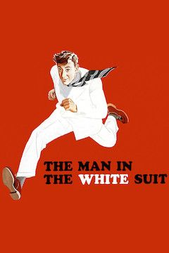 Poster for the movie The Man in the White Suit