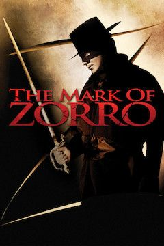 The Mark of Zorro movie poster.