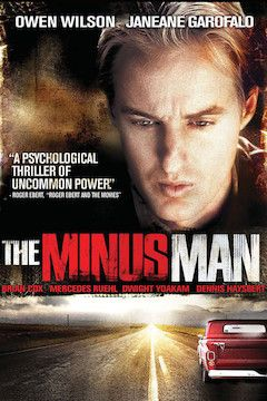 The Minus Man movie poster.