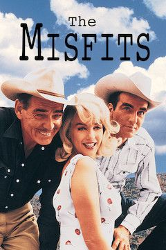 The Misfits movie poster.