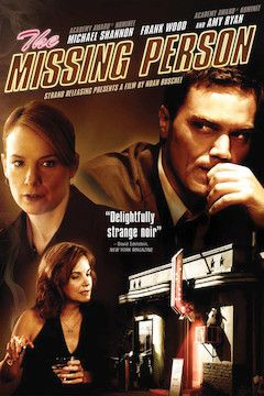 The Missing Person movie poster.