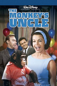 The Monkey's Uncle movie poster.